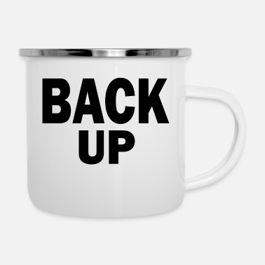 Back Yard back up - Enamel Mug