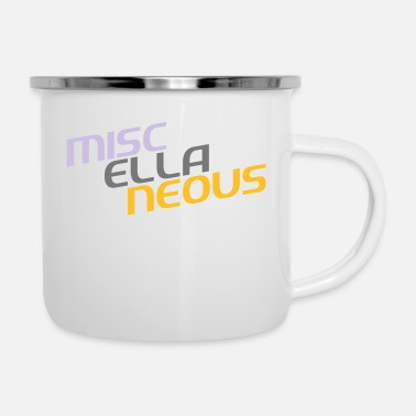 Miscellaneous miscellaneous english gift slogan colored motive - Enamel Mug