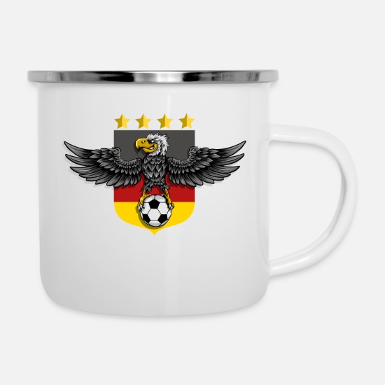 World Championship Mugs & Drinkware - Germany football world champion - Enamel Mug white