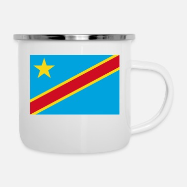 Democrat The Democratic Republic of the Congo flag - Enamel Mug