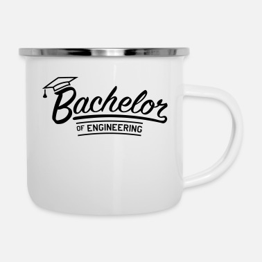 Abschluss bachelor_of_engineering_f1 - Emaille-Tasse