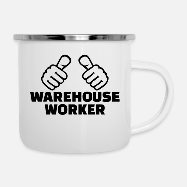 Worker Warehouse worker - Emaille mok