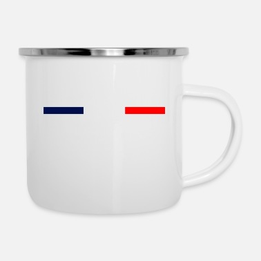 National picole nationale - Emaille-Tasse