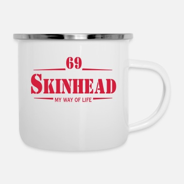 Rudeboy Working Class Skinhead Oi! Antiracist Bootboys My - Enamel Mug