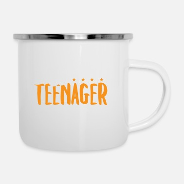 Teen Official Teenager - Teens Teen Teenie Geschenk - Emaille-Tasse