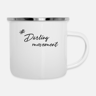 Movement Darling Movement Tea - Emaille mok