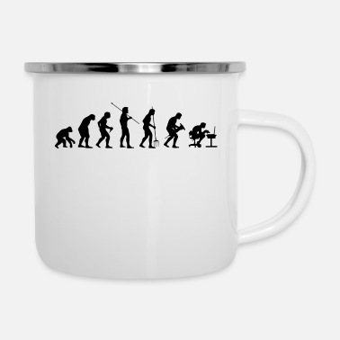 Pc Game PC Gamer - Emaille-Tasse
