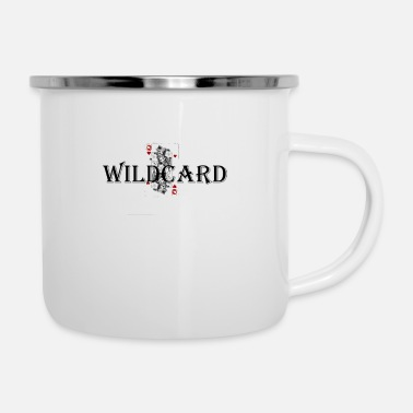 Wildcards Wildcard - Emaille-Tasse