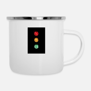 Traffico TRAFFIC LIGHT - Tazza smaltata