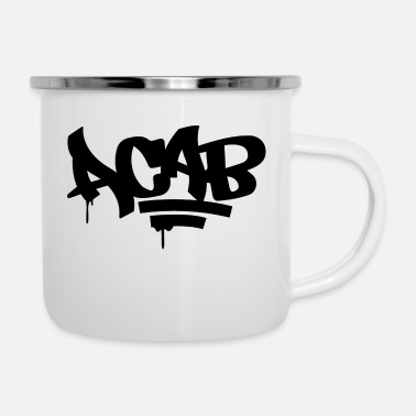 Cop ACAB - Graffiti - Day - Enamel Mug