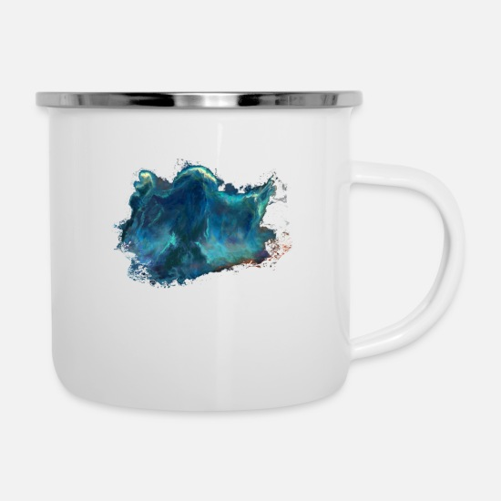 Play Mugs & Drinkware - water man - Enamel Mug white