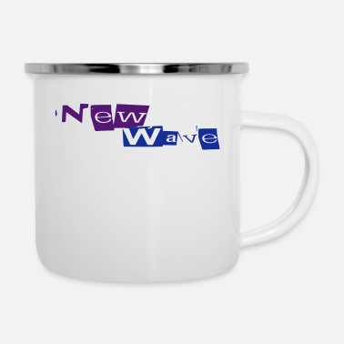 New Wave New Wave - Emaille-Tasse