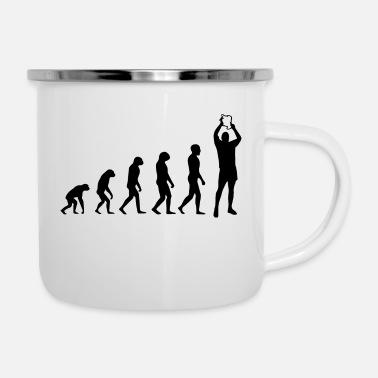 Darwin Evolution of a Champion - Enamel Mug