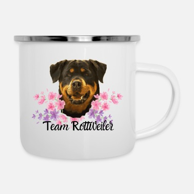Team Rottweiler - Tazza smaltata