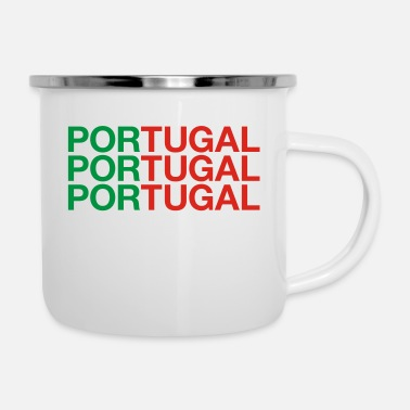 Portugal PORTUGAL - Emaille-Tasse