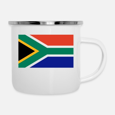 South South Africa - Enamel Mug