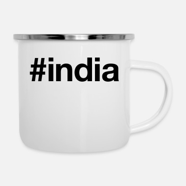 Indie INDIA - Emaljekopp
