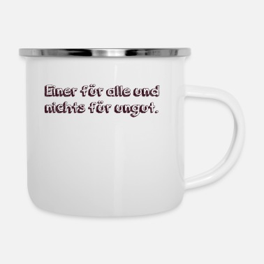 Offensive one for all and no offense - Enamel Mug