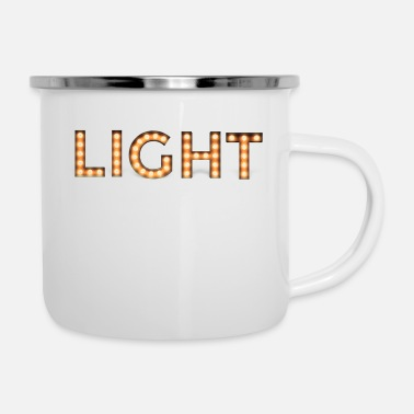 Light Light - Enamel Mug