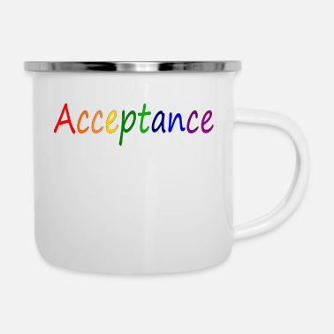 Accepted Acceptance - Enamel Mug