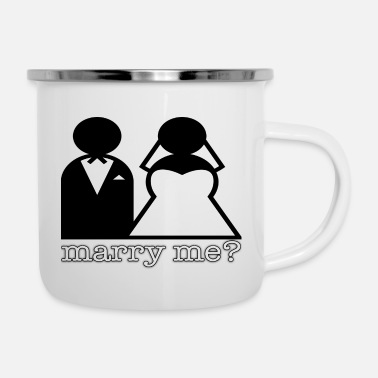 Marry Marry - Enamel Mug