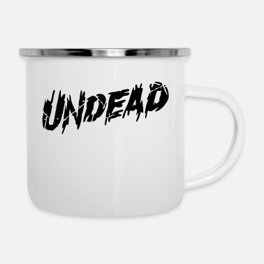 Undead undead - Emaljmugg