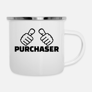 Purchase Purchaser - Enamel Mug