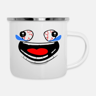 Laugh Laugh - Enamel Mug