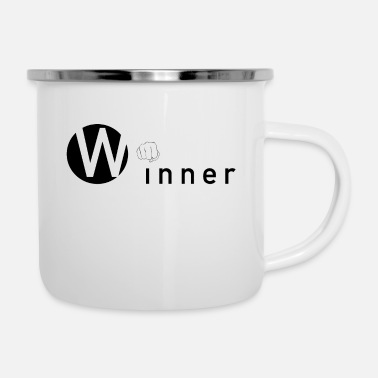 Winner Winner - The Winner - Enamel Mug