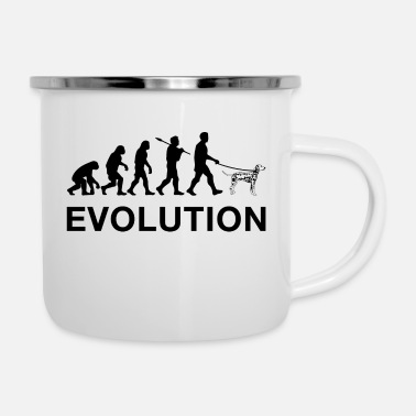 Darwin Evolution - Enamel Mug