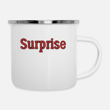 saying - Enamel Mug
