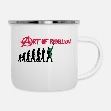 Rebellion art of rebellion - Enamel Mug