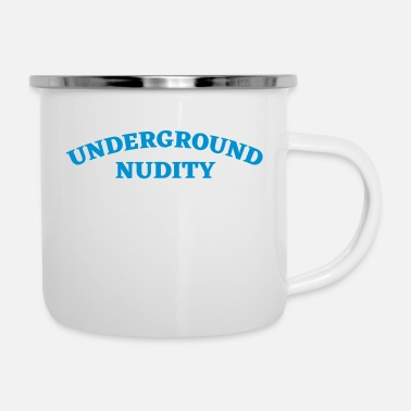 Nudity Underground Nudity - Enamel Mug