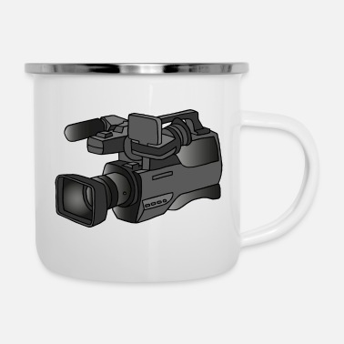 Video Video camera - Enamel Mug