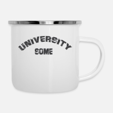 University Researcher SOME UNIVERSITY - Enamel Mug