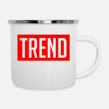 Trend Trend - Emaille-Tasse