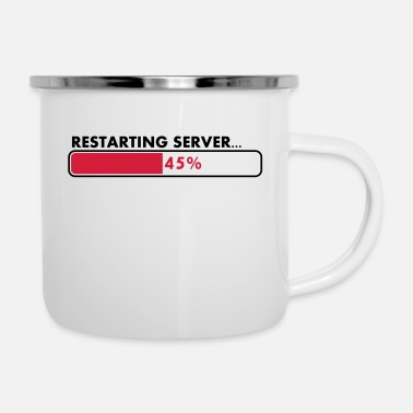 Serve Server neu starten - Emaille-Tasse