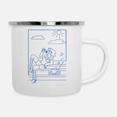 Soul Hot summer - Enamel Mug