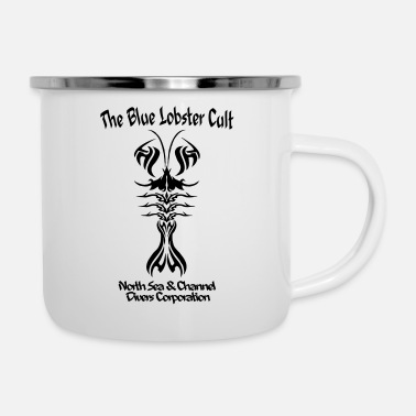 The Blue Lobster Cult - Mug émaillé