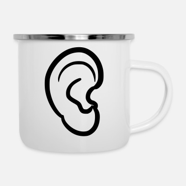 Earring ear - Enamel Mug