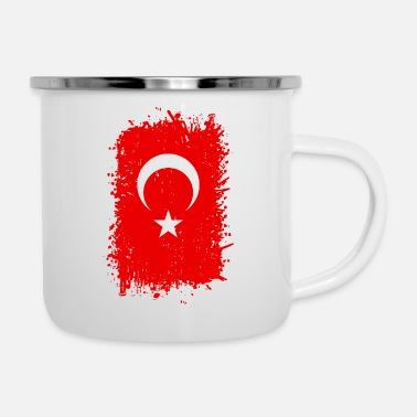 Turchia Turchia - Tazza smaltata