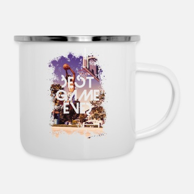 Bball BEST GAME EVER - BBALL - Emaille-Tasse