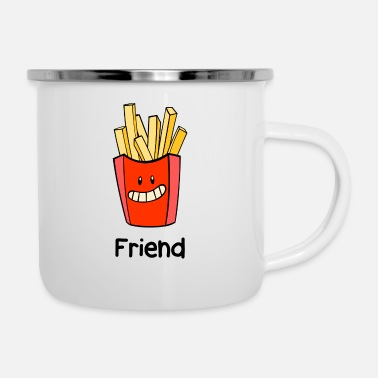 Friend Friend - Enamel Mug