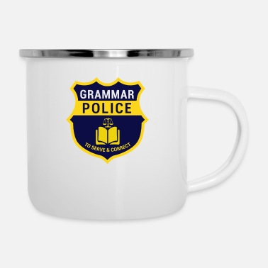 Officialbrands regalo di Grammer per nerds, nerds veleno - Tazza smaltata