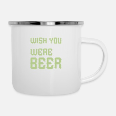 Wheat Wish You Were - Enamel Mug