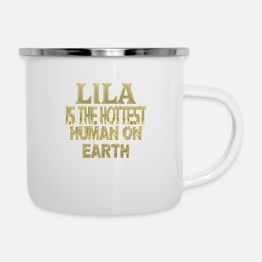 Lila Lila - Emaille-Tasse