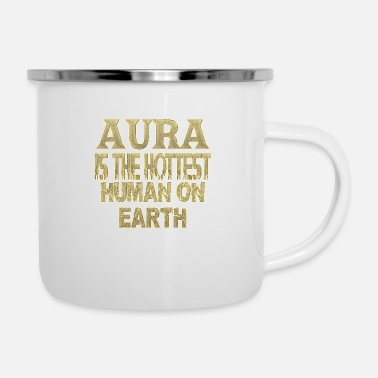 Aura aura - Tazza smaltata