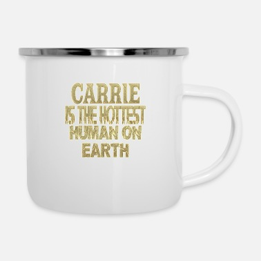 Carry Carrie - Enamel Mug