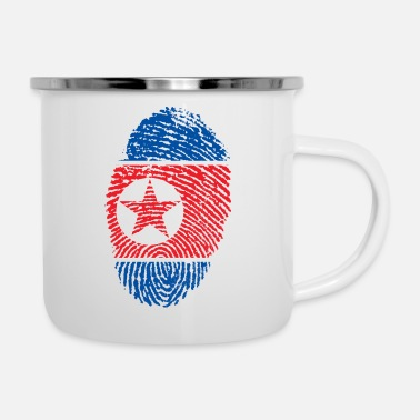 North Korea NORTH KOREA NORTH KOREA GIFT T-SHIRT - Enamel Mug