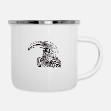 Beak Toko bird head beak - Enamel Mug